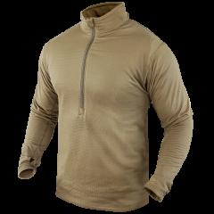 CONDOR - BASE II Zip Pullover TAN