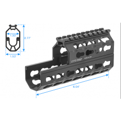 Leapers UTG - AK 6 Inch Super Slim Keymod Handguard