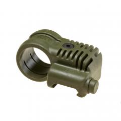 CAA - Picatinny QR Offset flashlight mount