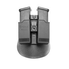 FOBUS - Dvigubas dėtuvių dėklas Glock 9mm