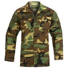 INVADER GEAR - Military TDU SHIRT Woodland